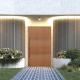 BELFORD - 2040x820x40 TIMBER BATTEN DOOR