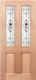 COLONIAL - TRIPLE GLAZED GLASS ENTRANCE DOOR