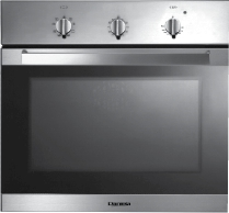 Hamilton - 60cm Gas Fan Forced Oven