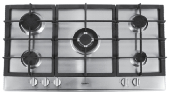 Moscow - 90cm Gas Cooktop