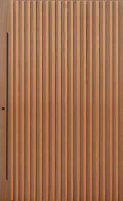 GRAFTON - 2040x820x40 TIMBER BATTEN DOOR