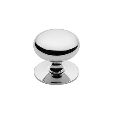 32x31mm Round Hollow Knob CP