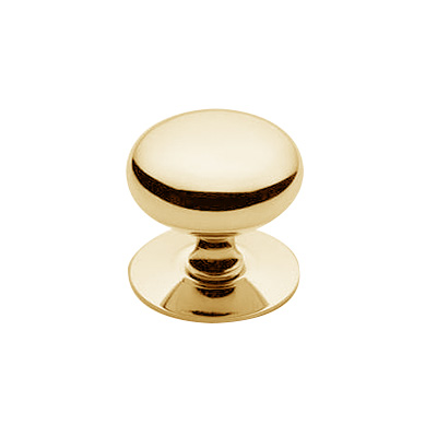 32x31mm Round Hollow Knob PB