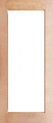 Full Lite Clear 2040x820x35 Timber Internal Door