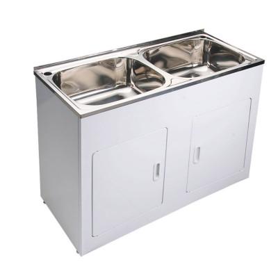 45L Double Bowl Laundry Tub