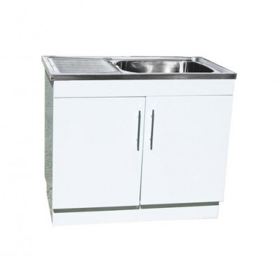 Laundry Tub with polyurethane Cabinet
