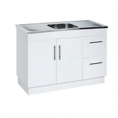 Kitchen Cabinet with Stainless Steel Sink