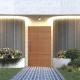 ROCHE - 2040x820x40 TIMBER BATTEN DOOR