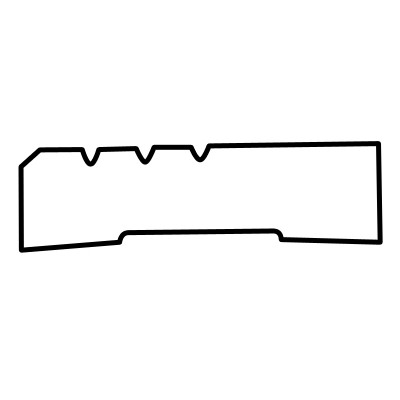 92x18 Shadow Line-3 Architrave